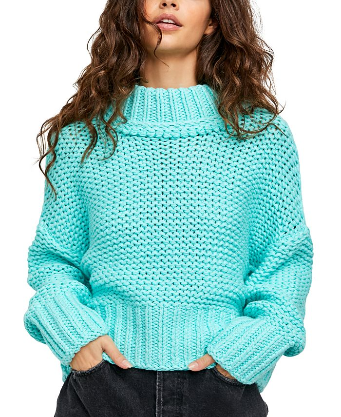 Free People - My Only Sunshine Cowl-Neck Sweater