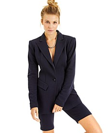 CULPOS X INC One-Button Blazer, Created for Macy's