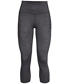 Meridian Heathered Cropped Leggings