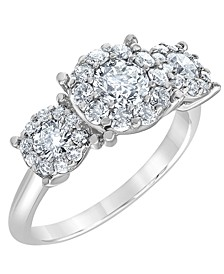 Diamond Engagement Ring (1 1/2 ct. t.w.) in Platinum