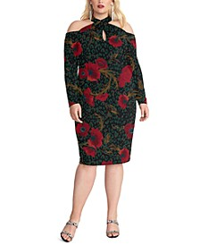 Plus Size Printed Simone Dress