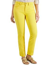 Lexington Tummy Control Straight-Leg Jeans, Created for Macy's