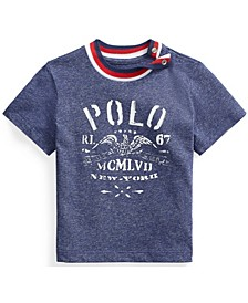 Ralph Lauren Baby Boys Cotton Jersey Graphic Tee