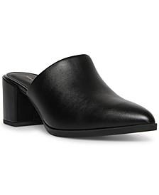 Daffi Block-Heel Mules