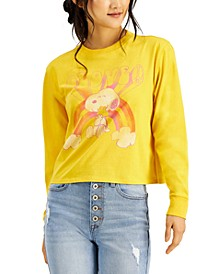 Mighty Fine Juniors Snoopy Graphic Long Sleeve Top
