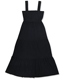 INC Tiered Denim Maxi Dress, Created for Macy's