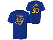 Toddler Golden State Warriors  Replica Name and Number T-Shirt