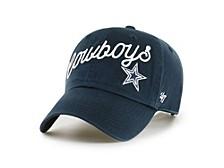 Dallas Cowboys Women's Millie Clean Up Cap