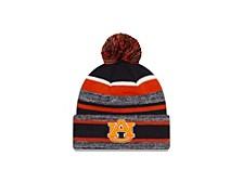 Auburn Tigers Striped Marled Knit