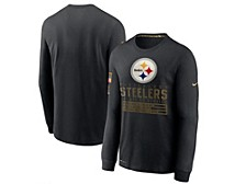 Men's Pittsburgh Steelers 2020 Salute to Service Long-Sleeve T-Shirt