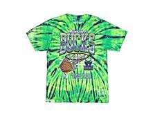 Men's Milwaukee Bucks Tie-Dyed T-Shirt