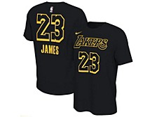 Men's Los Angeles Lakers Restart Name and Number Pack T-Shirt - LeBron James
