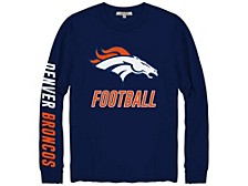 Denver Broncos Men's Zone Read Long Sleeve T-Shirt