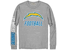 Los Angeles Chargers Men's Zone Read Long Sleeve T-Shirt