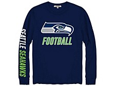 Seattle Seahawks Men's Zone Read Long Sleeve T-Shirt