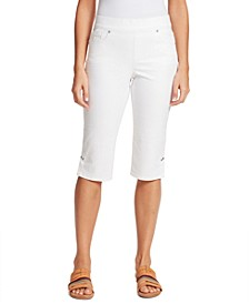 Petite Avery Pull-On  Skimmer Jeans