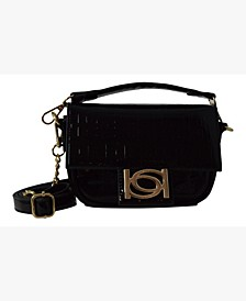 Alexandra Patent Mini Crossbody