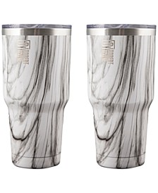 Robert Irvine by 30-oz. Insulated Tumblers, Set of 2