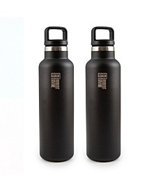 by Cambridge Set of 2 Insulated 18-Oz. Bottles