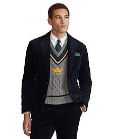 Men's Polo Soft Corduroy Suit Jacket