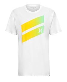 Men's Icon Slash Gradient Graphic T-Shirt