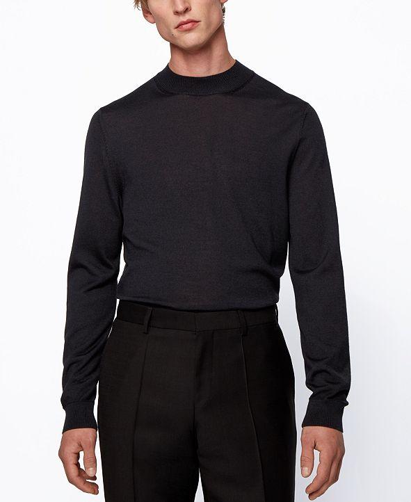 Hugo Boss BOSS Men's Diluca Mock-Neck Sweater