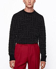 BOSS Men's Dirocco_Crewneck Sweater