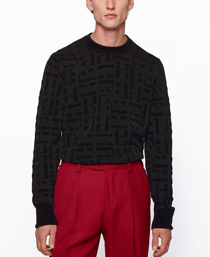 Hugo Boss - Men's Dirocco_Crewneck Sweater