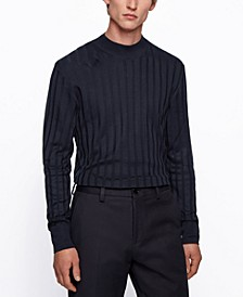 BOSS Men's T-Deriso Mock-Neck Sweater
