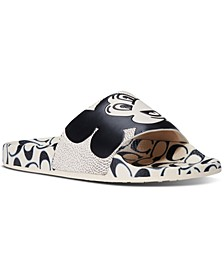x Keith Haring Mickey Slide Sandals