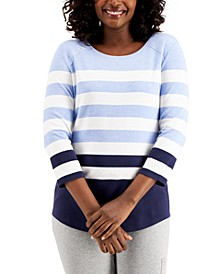Cape Cod Striped Top, Created for Macy's