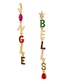 Jingle Bells Mismatched Earrings