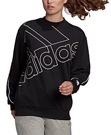 Women's Big-Logo Sweatshirt