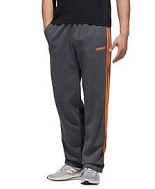 Men's Essentials 3-Stripes Fleece Pants