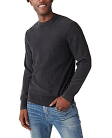 Men's Washed Welterweight Crew Sweater