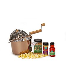 Holiday Copper Plated Whirley Pop Filled with Joy Giftset
