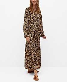 Women's Printed Long Dress