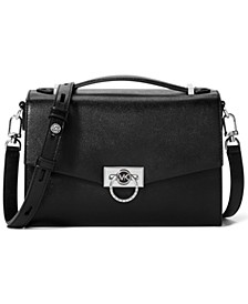 Hendrix Medium Leather Messenger Bag