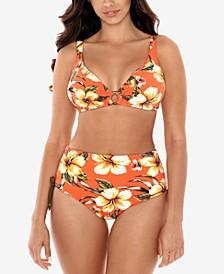 Kahului Coco Bikini Top & High-Waist Bikini Bottoms