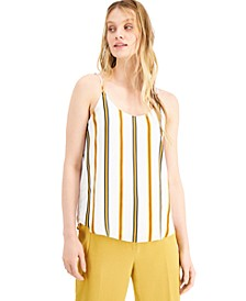 Striped Camisole Top, Created for Macy's