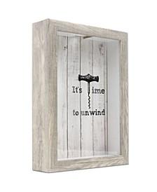 "Cork Holder Shadow Box Frame, 9"" x 12"""