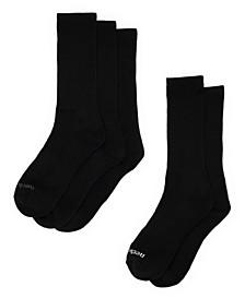 Men's Crew Socks, Pack of 5