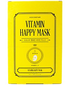 Vitamin Happy Mask, Pack of 10