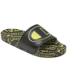 Men's IPO Print Slide Sandals from Finish Line