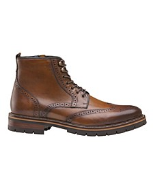 Men's Cody Wingtip Zip Boots