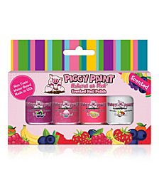 Scented Sweet Treats Nail Paint, Set of 4