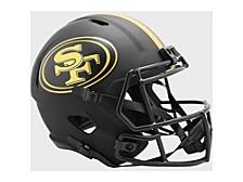 San Francisco 49ers Speed Eclipse Alt Replica Helmet