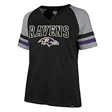 Baltimore Ravens Women's Gleam Across Pavillion T-Shirt