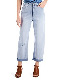 Distressed Balloon Jeans, Created for Macy's