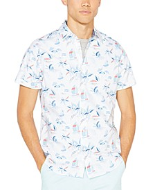 Men's Classic-Fit Printed Shirt
